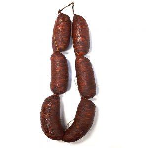 Chorizo ahumado asturiano