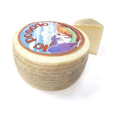 queso curado estilo manchego asturiano